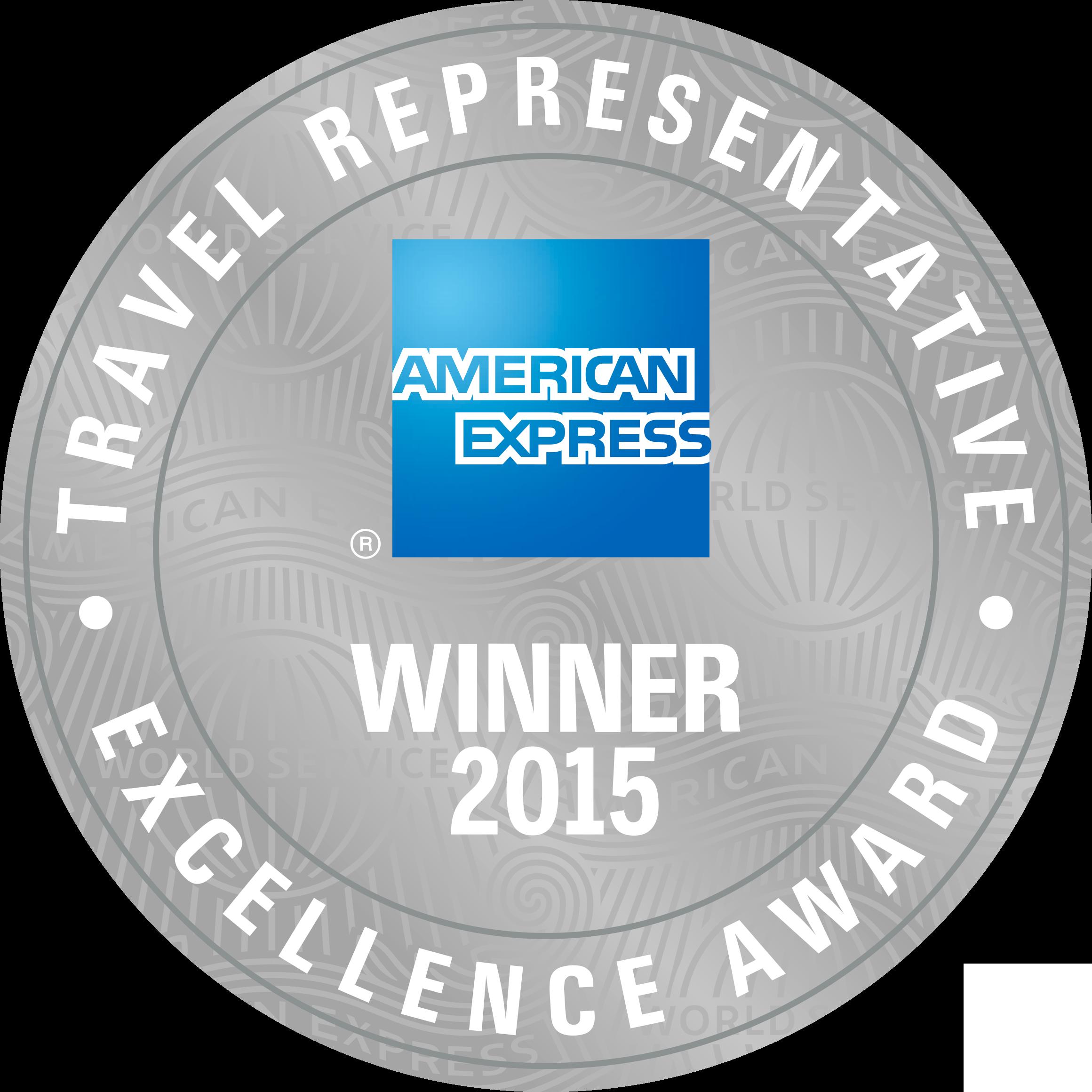 2015 Representative Excellence Award