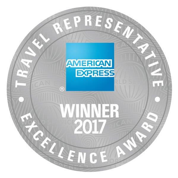 American Express Travel Representative Winner 2017