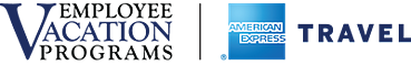 Employee Vacation Programs, American Express Travel Logo